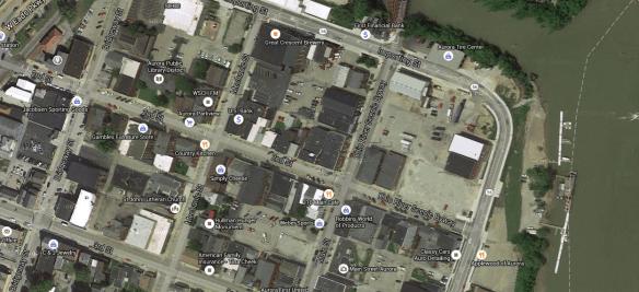 Kirsch house map