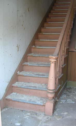 Kirsch house staircase
