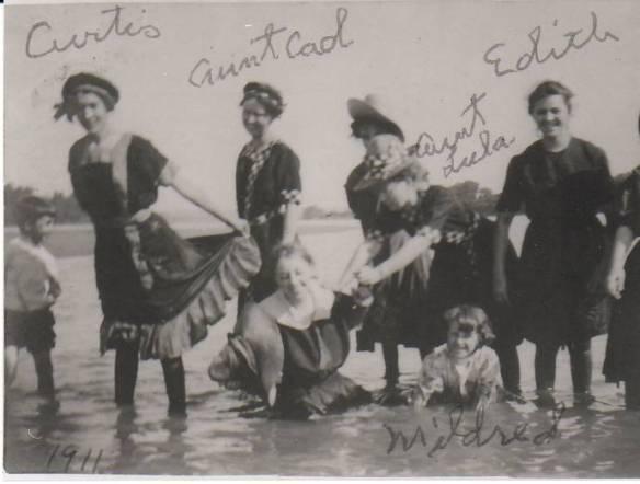 Kirsch sisters at the lake