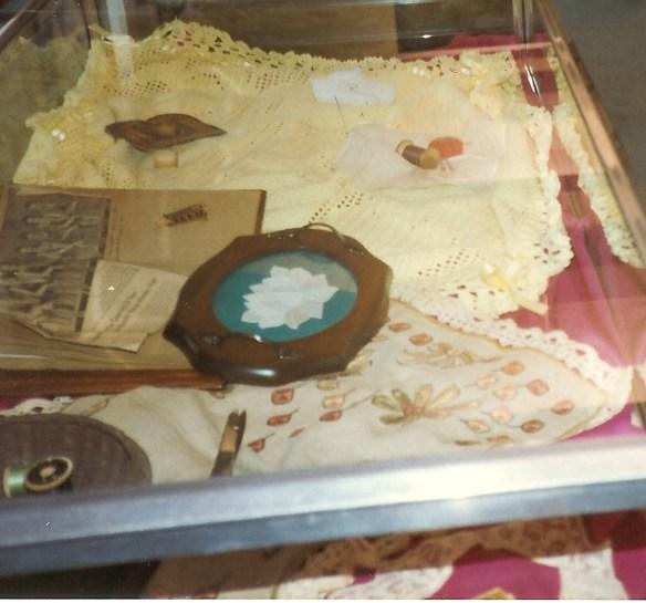 Needlewomen display case