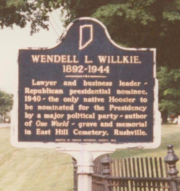 Willkie sign