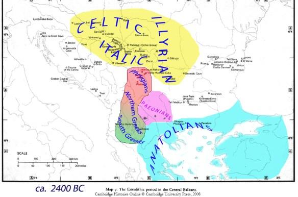 Balkans 2400 BC