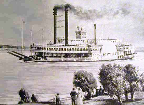 Aurora steamboat