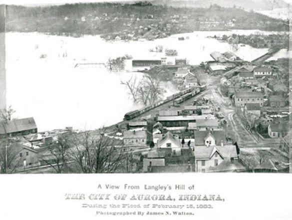 1883 Aurora Flood