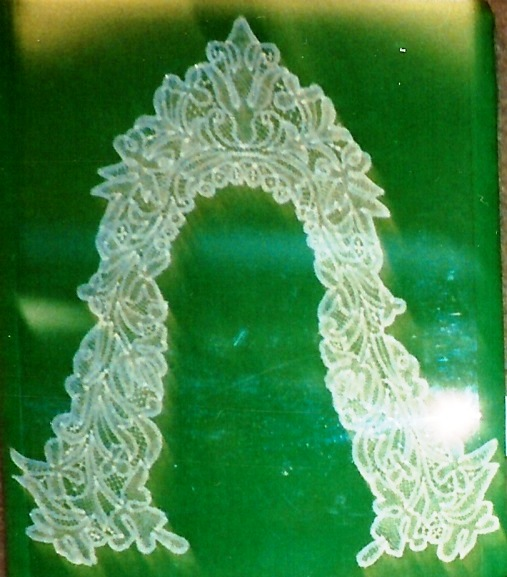 Drechsel lace collar