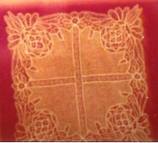Drechsel lace handkerchief