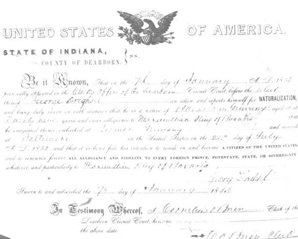 Drechsel naturalization
