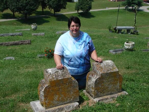 Funeral Barbara Drechsel stone