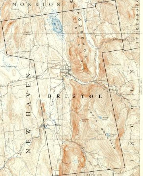 Bristol 1910 topo