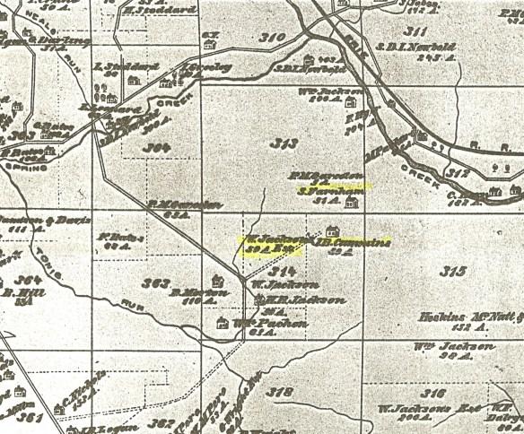 Jackson plat map