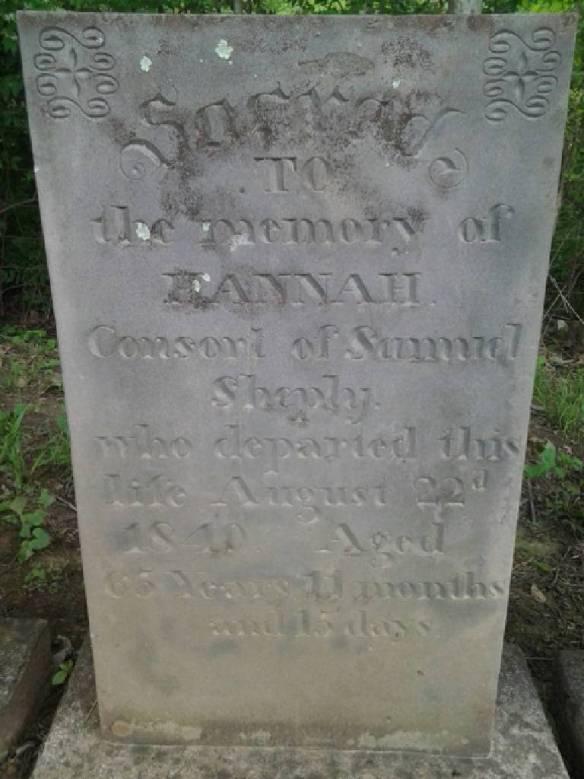 Hannah Shepley stone