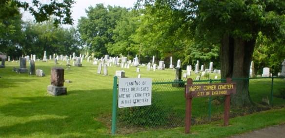 Lentz Happy Corner cemetery