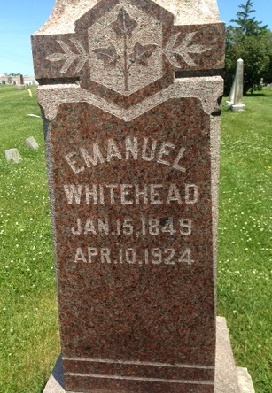 Margaret Lentz Emanuel Whitehead stone