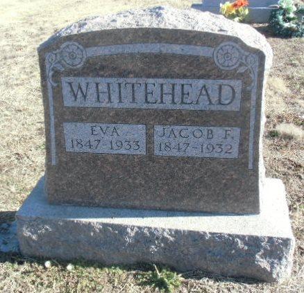 Margaret Lentz Jacob Whitehead stone