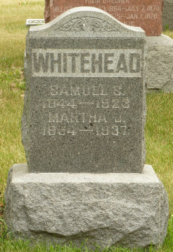 Margaret Lentz Samuel Whitehead stone
