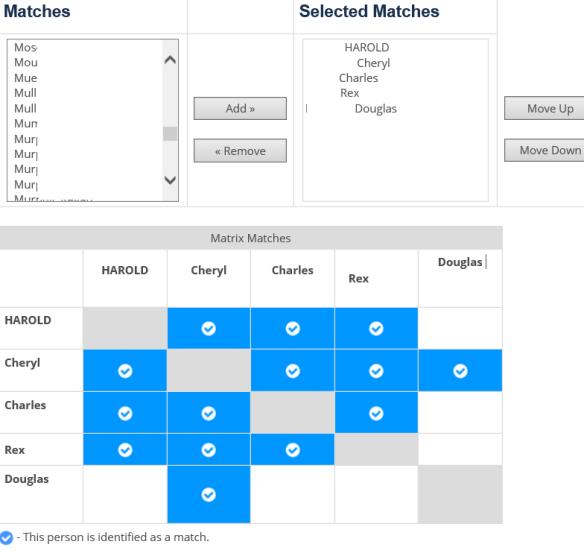FF9 Matrix grid