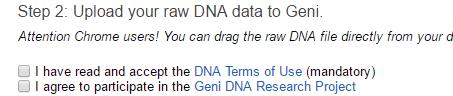 Geni opt in