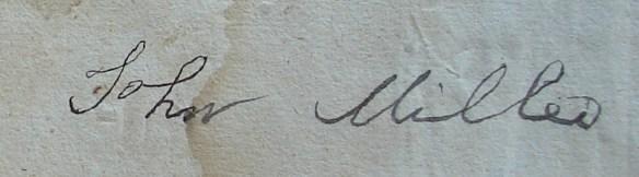 John Miller signature 2