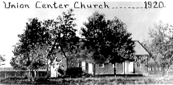 Union Center Church 1920