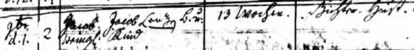 Lenz, Jakob 1775 death