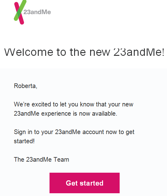 New 23andMe Experience – In a Word, Disappointing