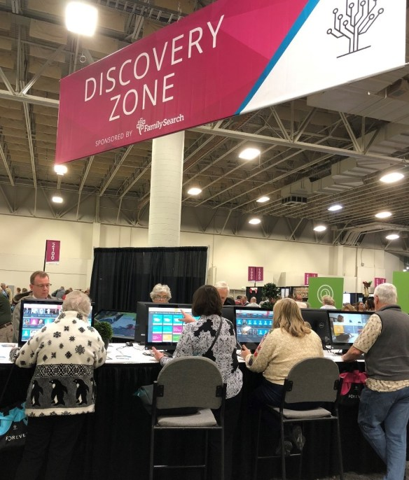 Rootstech day 2 discovery zone