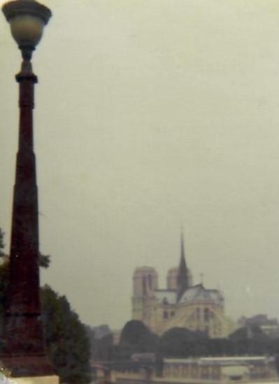 1970 Paris Notre Dame