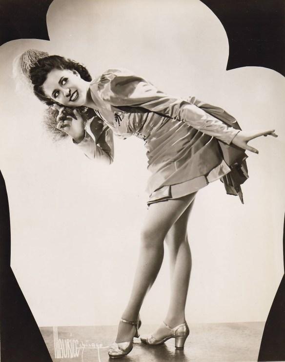 Barbara Ferverda dancing 1944 2 pro