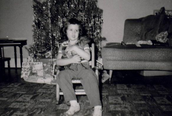 Roberta Christmas age 4