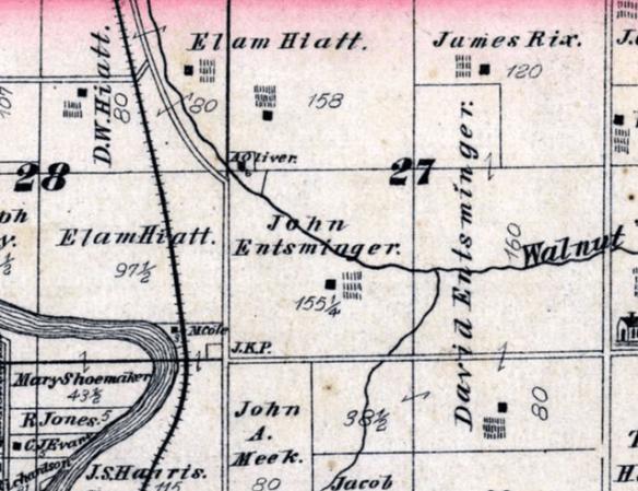 Henry Ferverty Grant Co map