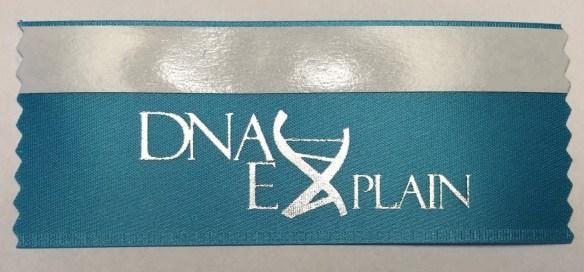 2019 DNAexplain ribbon