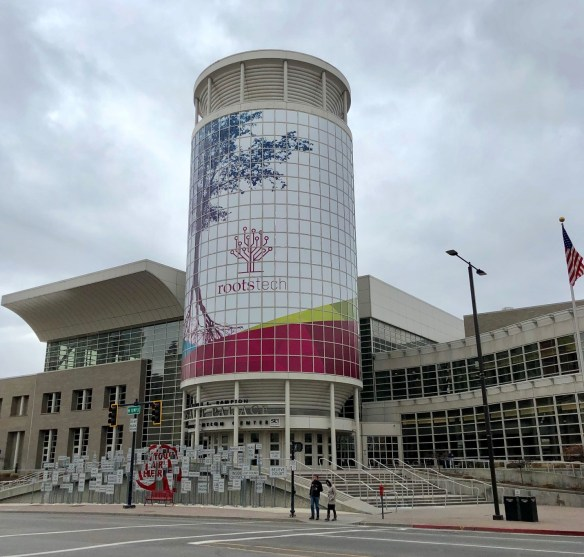 2019 Rootstech sign