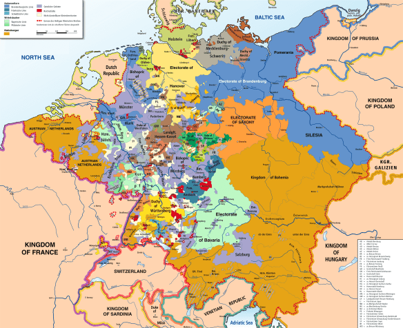Holy Roman Empire 1789