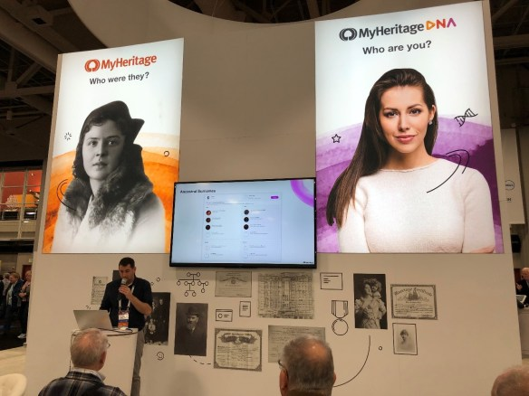 2019 MyHeritage booth