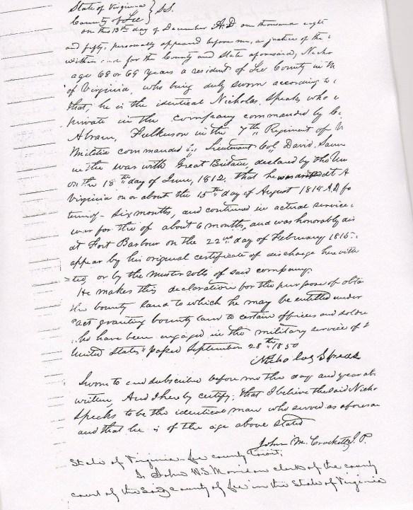 Nicholas Speaks War of 1812 petition.jpg