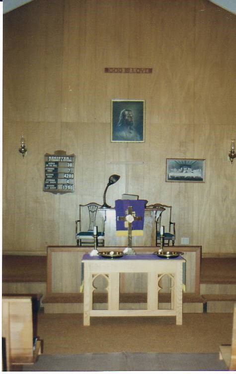 Nicholas Speaks church interior 2009