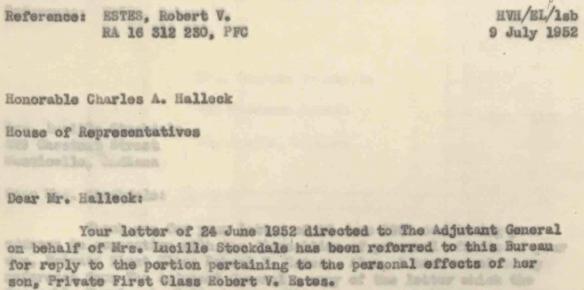 Robert Vernon Estes record 19
