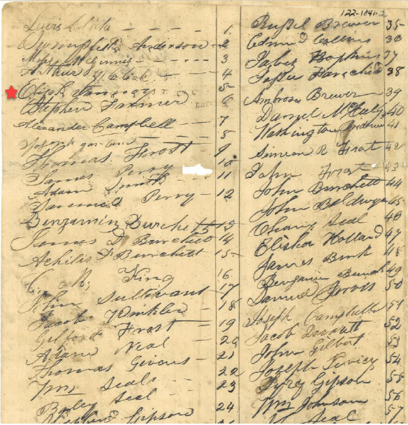 Hancock petition 1841