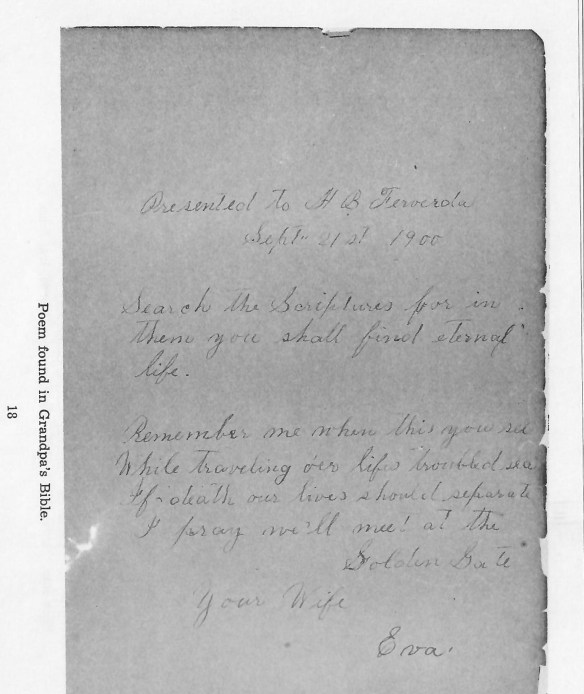 Hiram Ferverda 1900 note from Eva.jpg