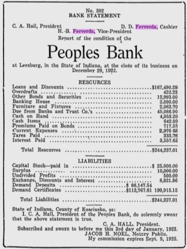 Hiram Ferverda 1923 bank.png