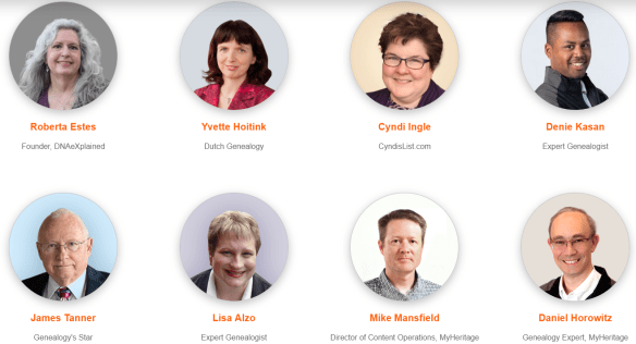 MyHeritage LIVE Amsterdam speakers 2