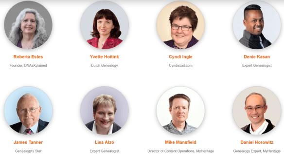 MyHeritage LIVE Amsterdam speakers 2