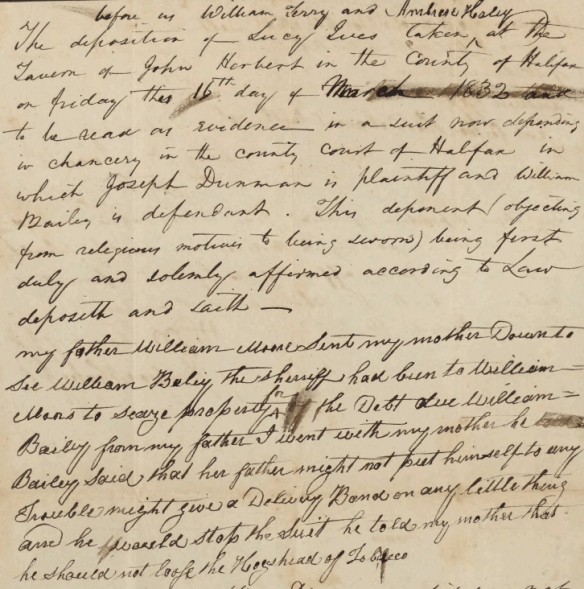 Lucy Moore deposition 1832.png