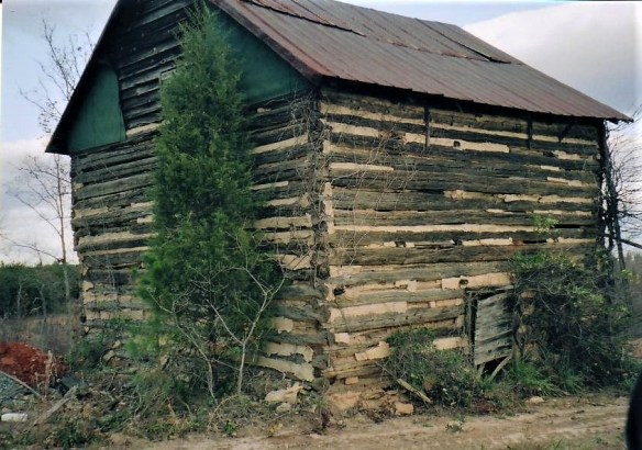 William Moore log cabin