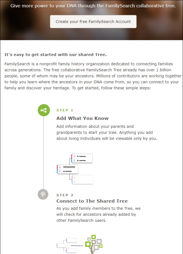 23andMe Connects Up with FamilySearch | DNAeXplained