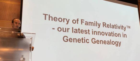 MyHeritage Live Theory of Family Relativity