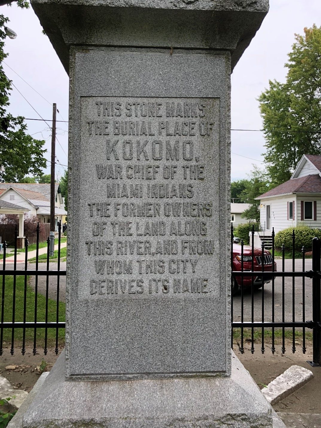 Kokomo Chief statue today.jpg