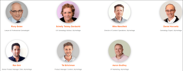 MyHeritage LIVE speakers 2