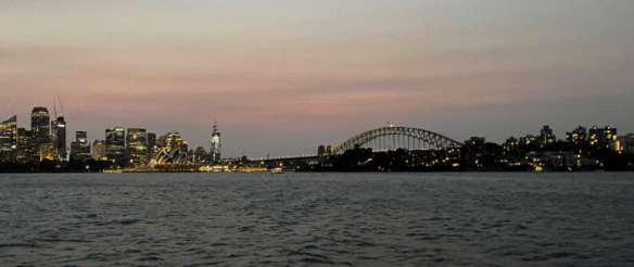 Australia Sydney harbour night.png