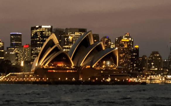 Australia Sydney night opera house.png